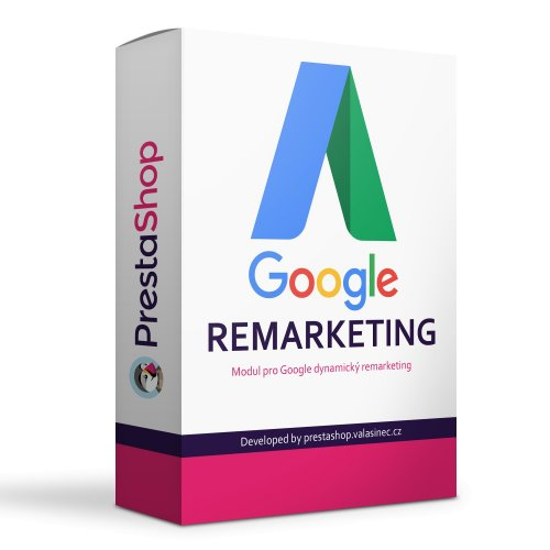 Google AdWords dynamický remarketing modul - PRESTASHOP 1.6, 1.7