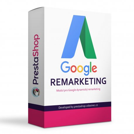 Google AdWords dynamický remarketing modul - PRESTASHOP 1.6, 1.7