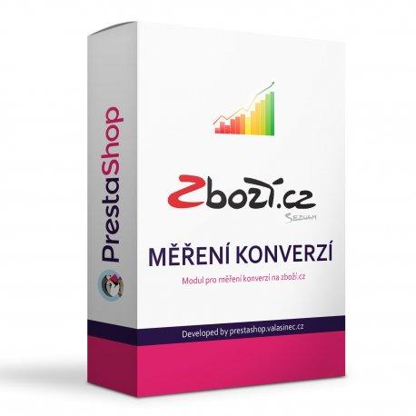 Zboží.cz měření konverzí základní i pokročilé - modul PRESTASHOP 1.6