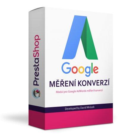 Google AdWords měření konverzí modul - PRESTASHOP 1.6, 1.7
