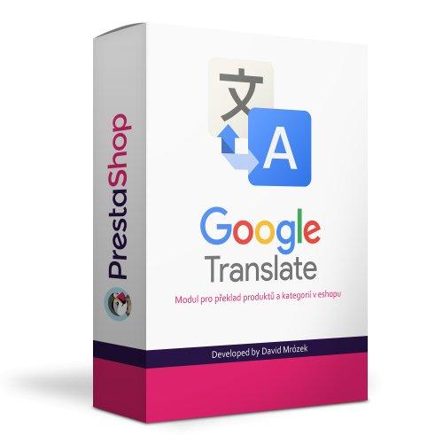 Automatický překlad produktů a kategorií do dalších jazyků