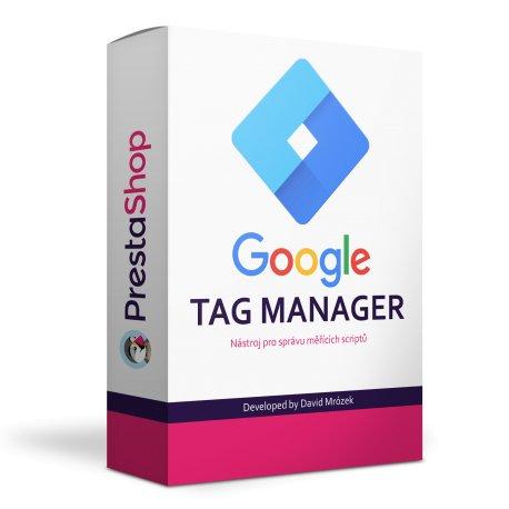 Google Tag Manager - PRESTASHOP 1.6, 1.7
