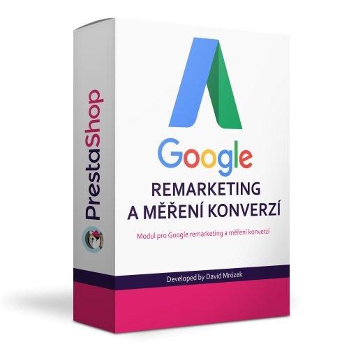Google AdWords dynamický remarketing a měření konverzí - PRESTASHOP 1.6, 1.7