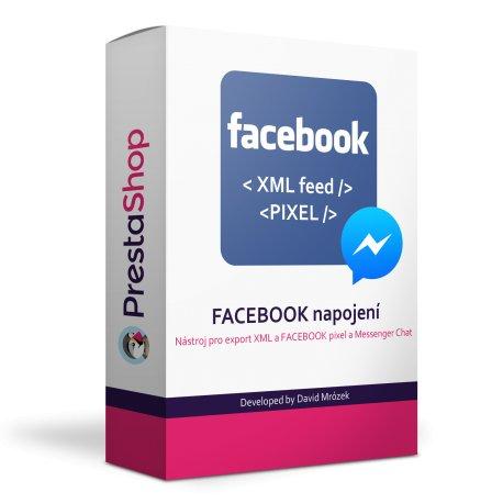 Facebook modul 2 v 1 - XML + PIXEL - PRESTASHOP