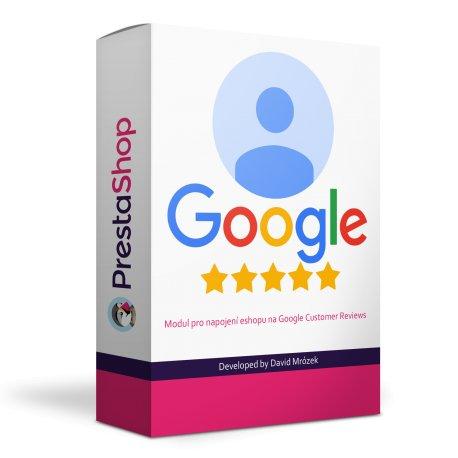 Google zákaznické recenze - modul pro PrestaShop
