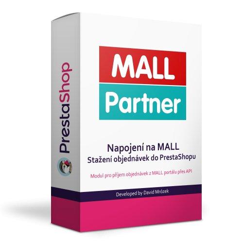 Modul MALL Partner - napojení API na objednávky na MALL - PRESTASHOP