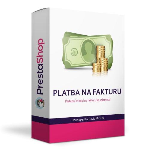 Platba na fakturu - platební modul PrestaShop 1.7