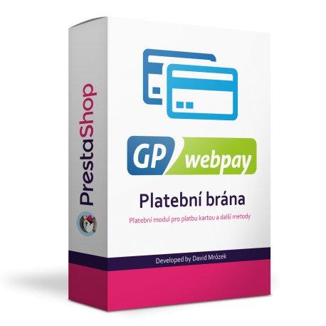 GpWebPay - platební brána 3D secure