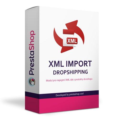 XML import produktů od dodavatelů - Dropshipping - PRESTASHOP 1.6, 1.7