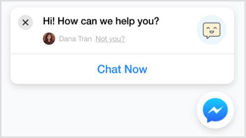 Messenger Chat na PrestaShopu