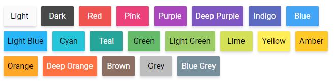 Nastavení barev