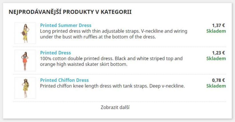 Nejprodavanější produkty v kategorii